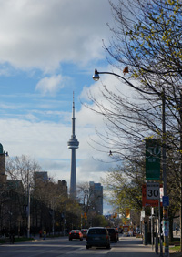 cn tower image